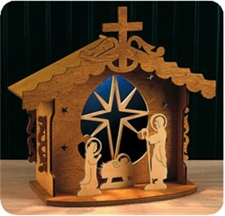 Christmas Nativity Scroll Saw Patterns Plans DIY Free Download How ...